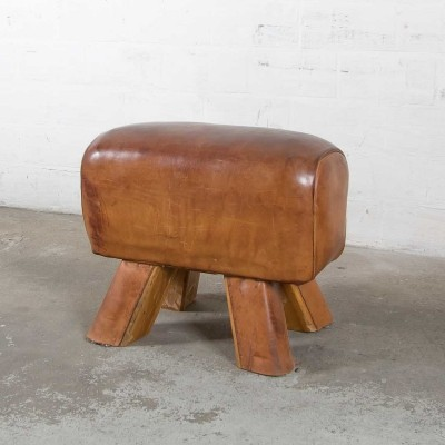Leather pommel horse, 1930s