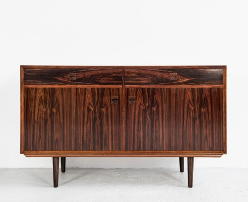 Danish cabinet with 2 doors & 2 drawers in rosewood by Brouer Møbelfabrik, 1960s