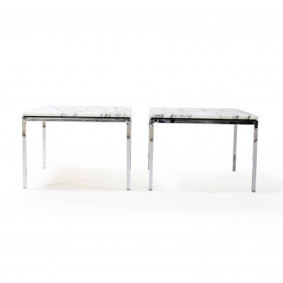 Pair of side tables by Florence Knoll for Knoll, 1960s