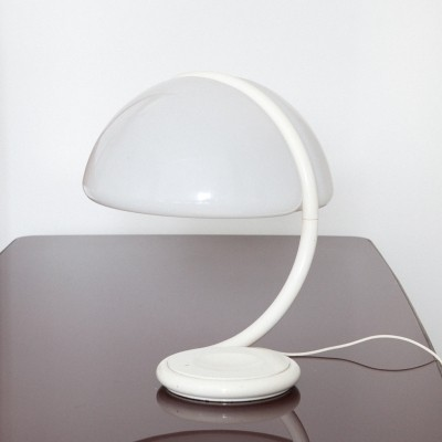 Italian 'Serpente' Table Lamp by Elio Martinelli, 1960s