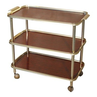 Vintage 3-tiered serving / drinks trolley, 1960s