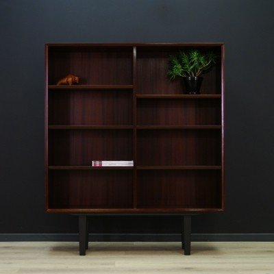 Rosewood bookcase, 1970s