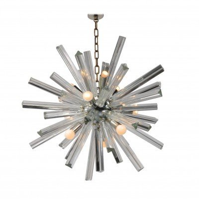 Murano Glass Sputnik Chandelier by Camer, Italy 1970s