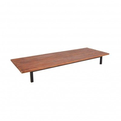 Charlotte Perriand Slate Bench from Cité Cansado, Mauritania 1958