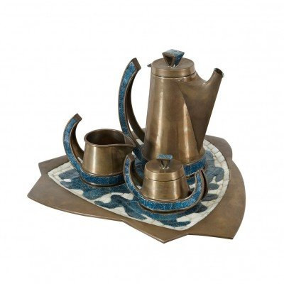 1960s Salvador Teran Coffee Set