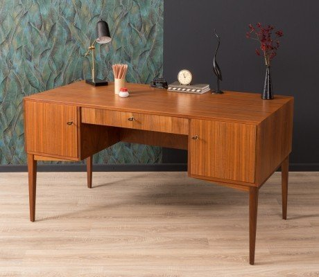 German writing desk by DeWe Deutsche Werkstätten, 1950s