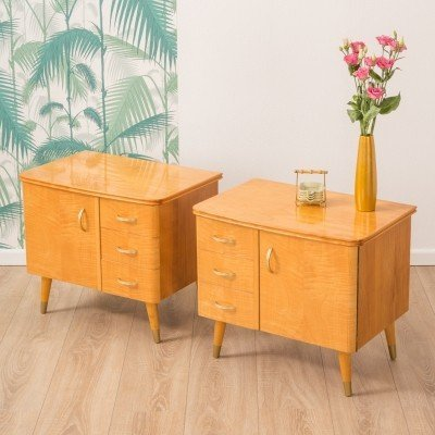 German bedside tables from the 1950s