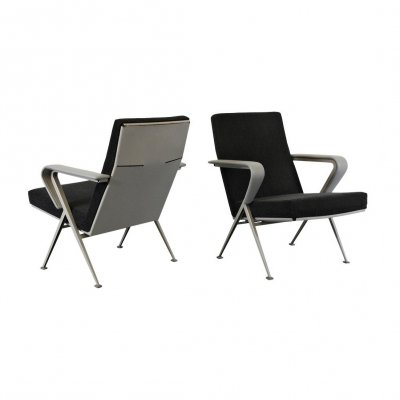 Pair of 'Repose' lounge chairs by Friso Kramer, 1967