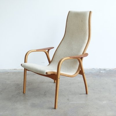 Mid-Century 'Lamino' easy chair by Yngve Ekström for Swedese