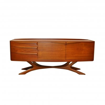 Cross Base Beithcraft Sideboard, Scotland 1960s