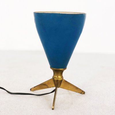 Vintage cone table lamp, 1950s