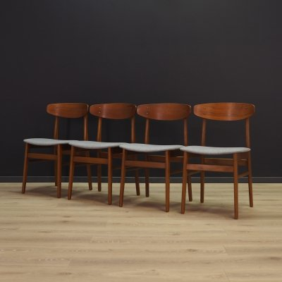 Set of 4 SAX dining chairs, 1970s