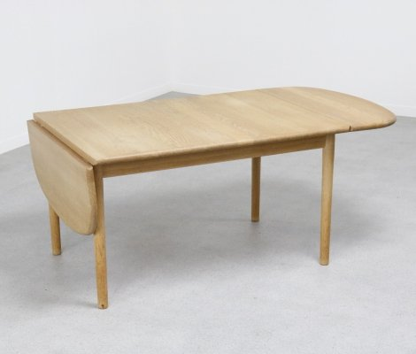 Rare Hans Wegner Drop Leaf Dining Table 82158