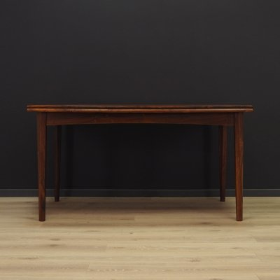 Dining table in rosewood, 1970s