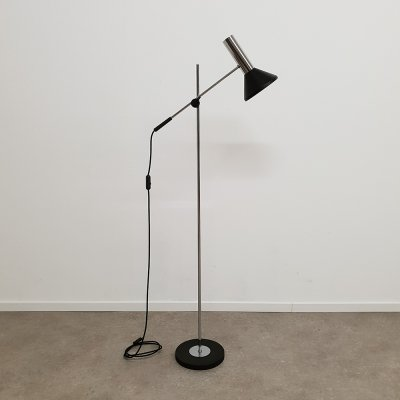 Dutch design 'hengellamp' Floorlamp