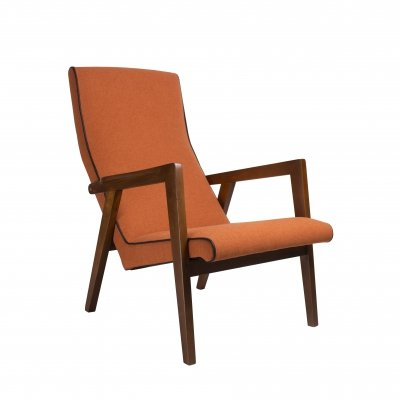 Lithuanian design lounge chair by L.M.K. Stapulioniene, 1970s