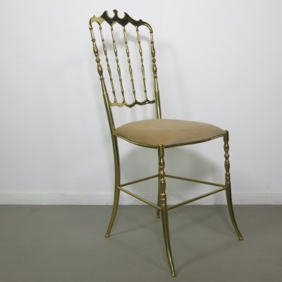 Brass Chiavari chair, 1950s