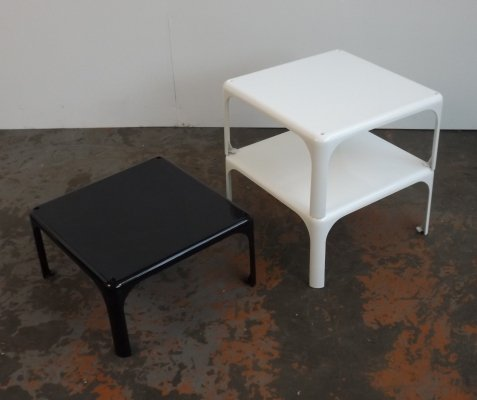 3 x Demetrio side table by Vico Magistretti for Artemide, 1970s