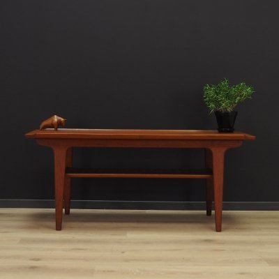 Vintage coffee table in teak, Denmark 1960s
