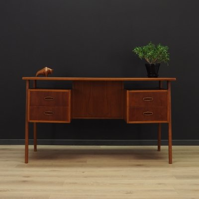 Vintage writing desk, Denmark 1960s
