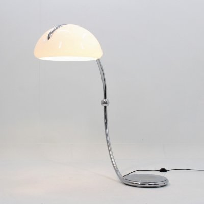 Vintage Serpente floor lamp by Martinelli Luce, 1960s