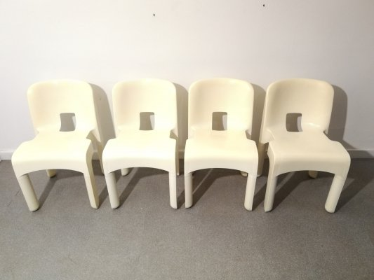 Joe Colombo 'Universale' chairs, 1960s