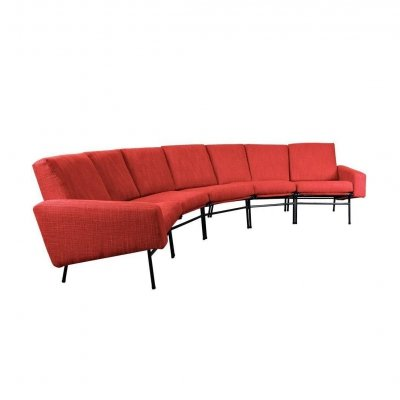 Rare Large Sofa by Pierre Guariche for Airborne, 1960s