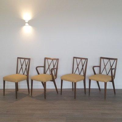 Set of 4 Poly Z Dining Chairs by A.A. Patijn for Zijlstra Joure, 1950s
