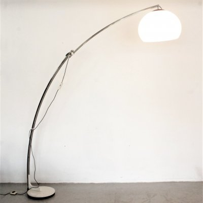 Giant extensible Arc floor lamp by Goffredo Reggiani