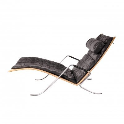 First Edition 'Grasshopper' Lounge Chair by Fabricius & Kastholm, 1967