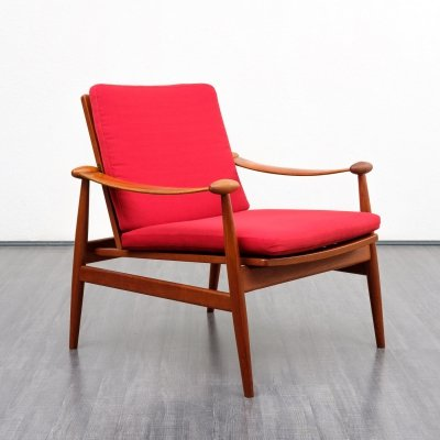 Model 133 Armchair by Finn Juhl for France & Son, Denmark 1950s