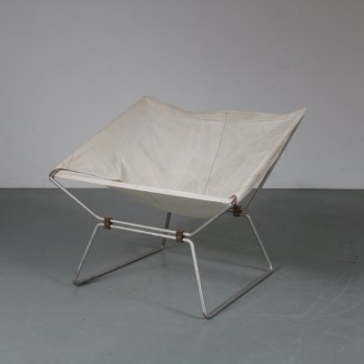 Ap-14 lounge chair by Pierre Paulin for Polak, 1950s