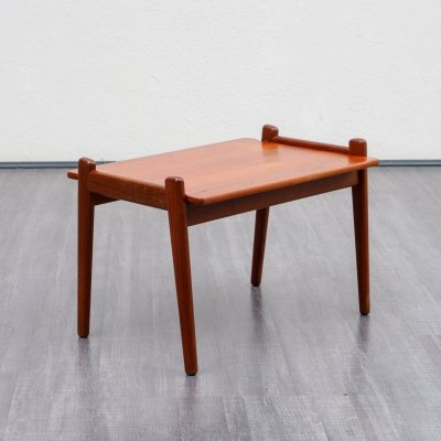 Rare Midcentury Teak Side Table by Fredrik A. Kayser For Vatne, Norway