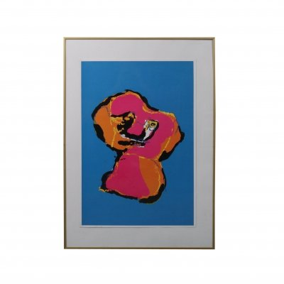 Karel Appel 'Animal' Silk Screen, 1970