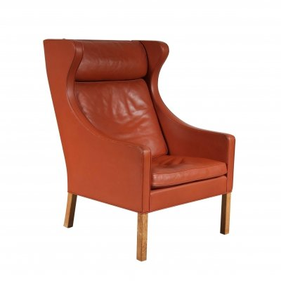 Borge Mogensen Wingback Chair for Fredericia, Denmark 1960s