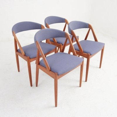 Set of four 'model 31' dining chairs by Kai Kristiansen, 1950s