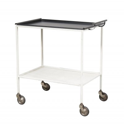 Biarritz Serving Trolley by Mathieu Matégot for Artimeta, Netherlands 1957