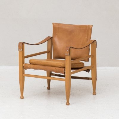 Safari chair by Borge Mogensen for Aage Bruun & Son, Denmark 1950's