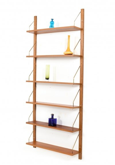 Mid Century Danish Teak wooden Shelves