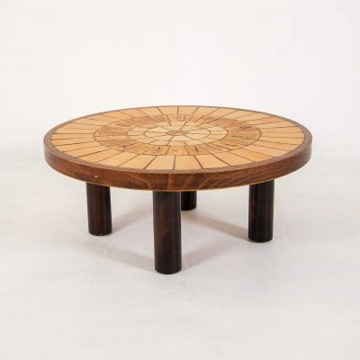 Roger Capron coffee table, 1970s