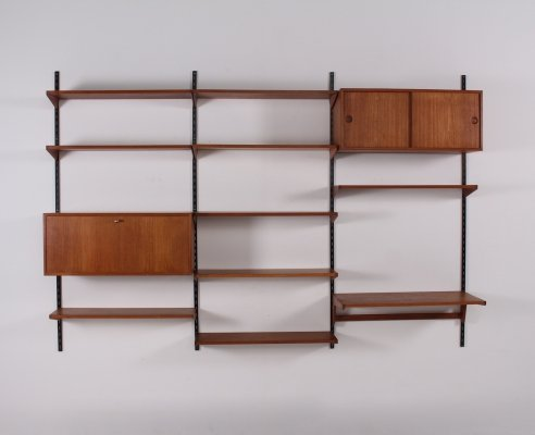 Kai Christiansen teak wall unit