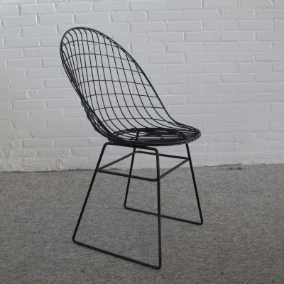 Early wire chair Cees Braakman & Adriaan Dekker for UMS Pastoe, 1957