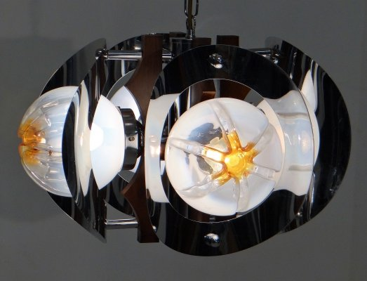 Pendant lamp by Mazzega, 1970s