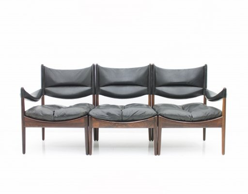High Back 'Modus' Lounge Sofa by Kristian Solmer Vedel, 1963