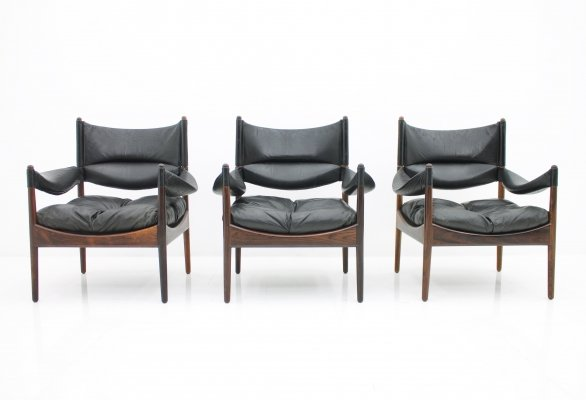 Modus Lounge Chairs by Kristian Solmer Vedel, Denmark 1963