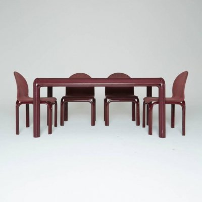 Model No. 54A Dining Set By Gae Aulenti For Knoll International