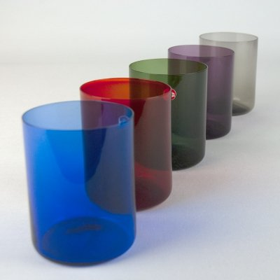 Set of 5 Glasses for Ingrid Glashütte, 1960s