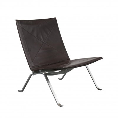 PK22 Lounge Chair by Poul Kjaerholm for E. Kold Christensen, Denmark 1960s