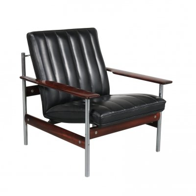 Sven Ivar Dysthe 1001 AF Original Lounge Chair for Dokka Möbler, Norway 1959