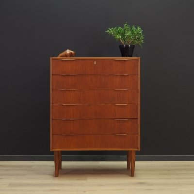 Danish design chest of drawers, 1970s